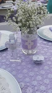 centerpieces for baptism pink and gold holy communion holy communion party