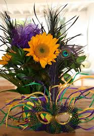 mardi gras mask decorating ideas great decorating idea theme flowers to the event much classier