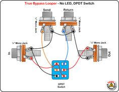 stutter pedal wiring diagram diy pedals pinterest projects