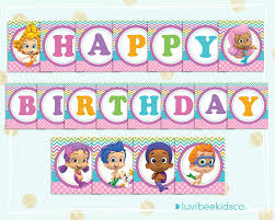 bubble guppies party printables u2013 luvibeekidsco