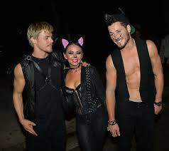 west hollywood halloween party celebs get decked out for halloween u2014 ashley benson colton haynes