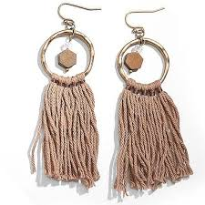 trendy earrings tassela trendy earrings vistashops