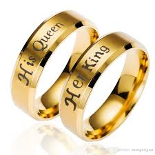 couples rings online images 2018 king and queen couple rings gold plated crown rings for jpg