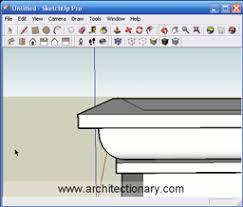 architectionary sketchup basic follow me tutorial