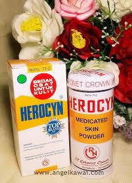 Bedak Gatal angelkawai s diary atasi biang keringat gatal menggunakan herocyn