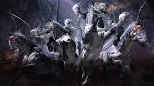 Halloween Horse Skeleton by Undead Wallpapers Wallpaperup