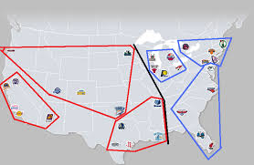 nba divisions map what happens to the conferences if the move to the east