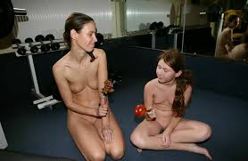 PureNudism gym'|Family Nudism Photo project [Pictures by Purenudism site: HEALTHY FITNESS  GYM] #worldnudism