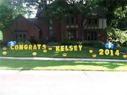 graduation sign my