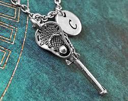 lacrosse necklace etsy