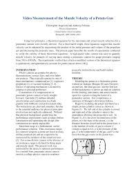 video measurement of the muzzle velocity of a potato gun pdf
