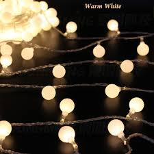 aa battery light bulb 3m 30 ball led string fairy lights party wedding christmas