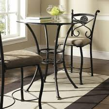 dining tables round glass dining table set for 4 glass dining