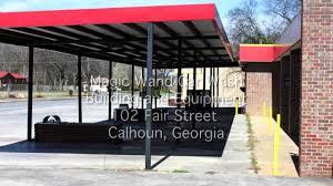 Canopy Car Wash by Magic Wand Car Wash 102 Fair Street Calhoun Georgia Youtube