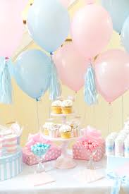 gender reveal balloons boy or girl blue pink gender reveal party pizzazzerie
