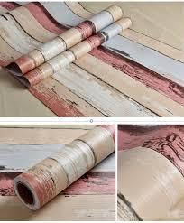 Peel Stick Wallpaper Wood Panel Peel Stick Wallpaper Crimson Brown Tan Lt Blue Self