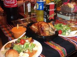 old fashioned thanksgiving dinner study abroad in peru blog lima liberal arts ciee eliza sease