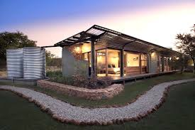 earthy energy smart home maintains a minimal eco footprint in the