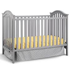 Fairytale Crib Mattress By Colgate Graco Ashland Classic 3 In 1 Convertible Crib In Pebble Grey Bed
