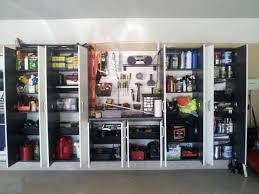 Garage Storage Organizers - garage storage wall and cabinets click for larger photogarage