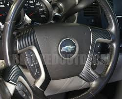 Christmas Gifts For Her 2015 Gmc 07 13 Carbon Fiber Steering Wheel Spoke Overlay Decal Cover