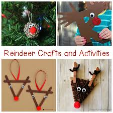 Kids Reindeer Crafts - reindeer crafts and activities for kids