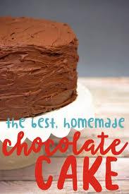 chocolate cake recipe from scratch easy homemade chocolate cake
