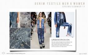 denim textile trends spring summer 2017