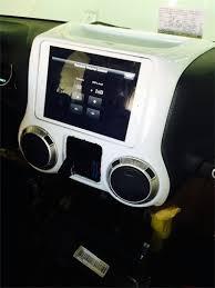 jeep wrangler custom dashboard fifield fab custom car audio vehicle specific kits