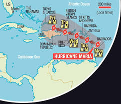 Map Caribbean Sea by Us And Caribbean Face More Devastation Hurricane Jose Hurricane