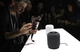apple unveils smart speaker called homepod wsj