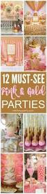 Pink And Gold Baby Shower Decorations by Best 25 Gold Baby Showers Ideas On Pinterest Baby Shower