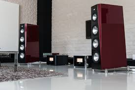 high end home theater speakers wizard high end audio blog setup zellaton reference speakers