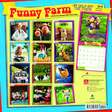 avanti funny farm 2018 wall calendar amazon co uk browntrout