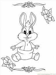 cute bunny coloring pages free printable coloring baby