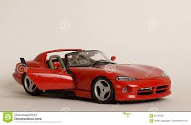 dodge sports car bright red toy sports car stock photo image of bright 62256208