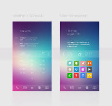 Home Screen Design Inspiration Android 7 Ldjalal Xda Apple Iphone Ios 7 Inspriration Uccw