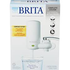 brita filter indicator light not working brita faucet water filter system with light indicator white ebay