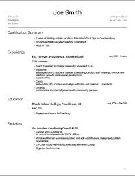 resume building with students on slash cv tech tips for teachers
