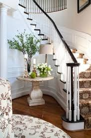 Entry Foyer Transitional Family Home With Classic Interiors Home Bunch