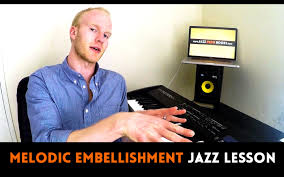 how to embellish a melody jazz piano lesson