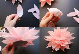 crepe paper flowers crepe paper flower headpieces by featured artist tiffanie turner