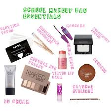 Makeup Schools In Nc 25 Best Makeup Bag Essentials Ideas On Pinterest Makeup Items