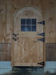 Dutch Barn Door by Custom Arched Cedar Dutch Door Precise Buildings