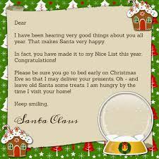santa claus letters printable santa claus letter printables santa