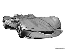 ambitious designer dreams up autonomous lamborghini spectro racer