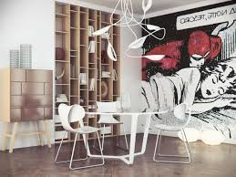 Modern Pop Art Style Apartment by Colorful Pop Art Apartment Idea Pop Art Interiors Coloring Your
