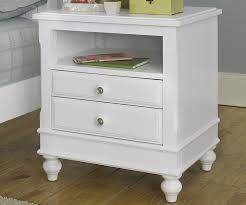 Kids Bedroom Furniture Collections Lakehouse White Finish Nightstand Nightstands Ne Kids