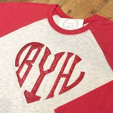 valentines day shirt heart monogram raglan monogrammed s day shirt heart