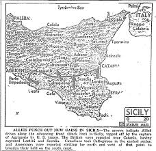 Map Of Italy And Sicily by Map Sicily 7 19 43 S Jpg